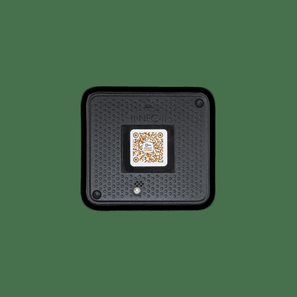 Overhead shot of the Transparent Path ECS ProofTag™
