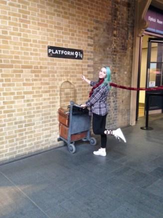 Kings Cross St Pancras Station, London