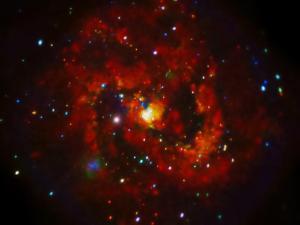 20120801XD-NASA(Chandra)- supernovaInSpiralGalaxyM83