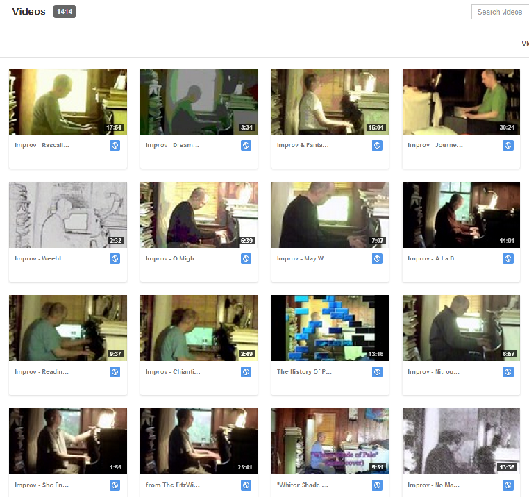 1,414 videos posted to date