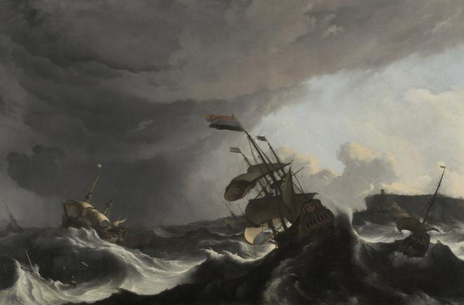 20150312XD-Rijks_WarshipsInaHeavyStorm_LudolfBakhuysen_SK-A-4856