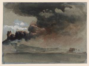 An Eruption of Mount Vesuvius 1839 by Clarkson Frederick Stanfield 1793-1867