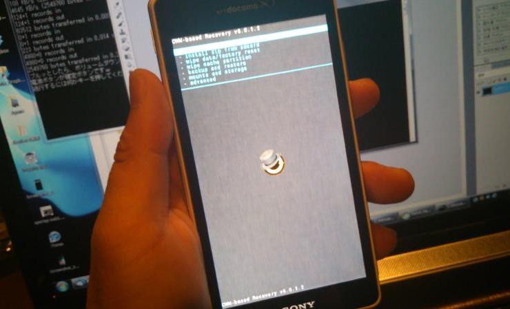 【Xperia GX・SX】50% CWM Backup!!!(人柱仕様)