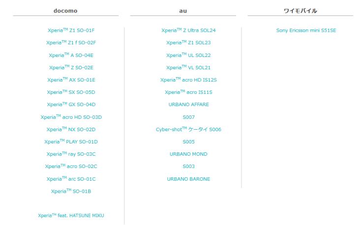 (追記あり)【Z2・Z3系のみ】既存XperiaのAndroid5.0アップデートの対応が発表!