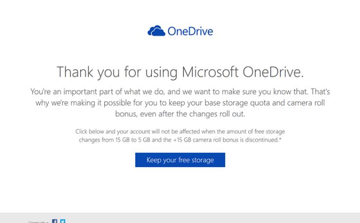 【Tips】明日1/31まで マイクロソフト社のクラウドストレージ「OneDrive」の容量強制削減を回避する策