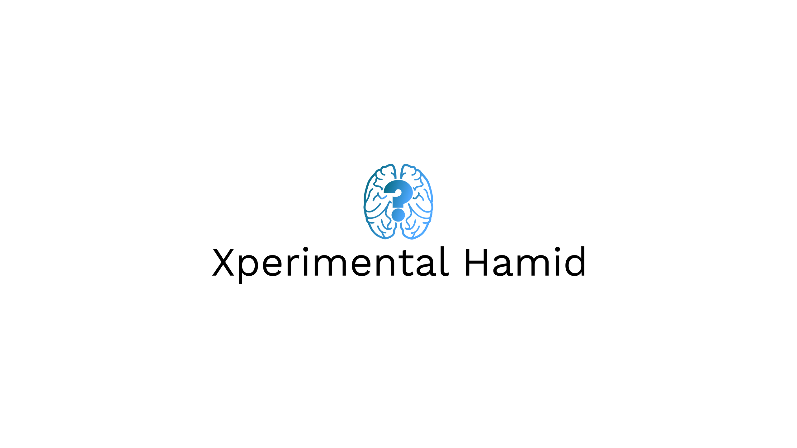 Xperimental Hamid Official Logo Cover