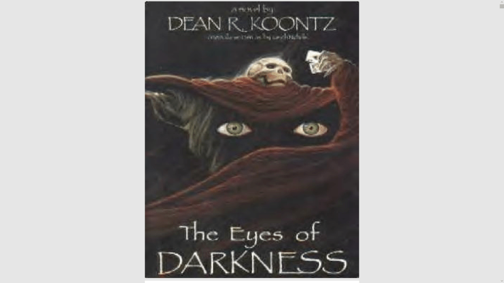 Dean Koontz book wuhan the eyes of darkness page 312, 333, 353, 355, 366