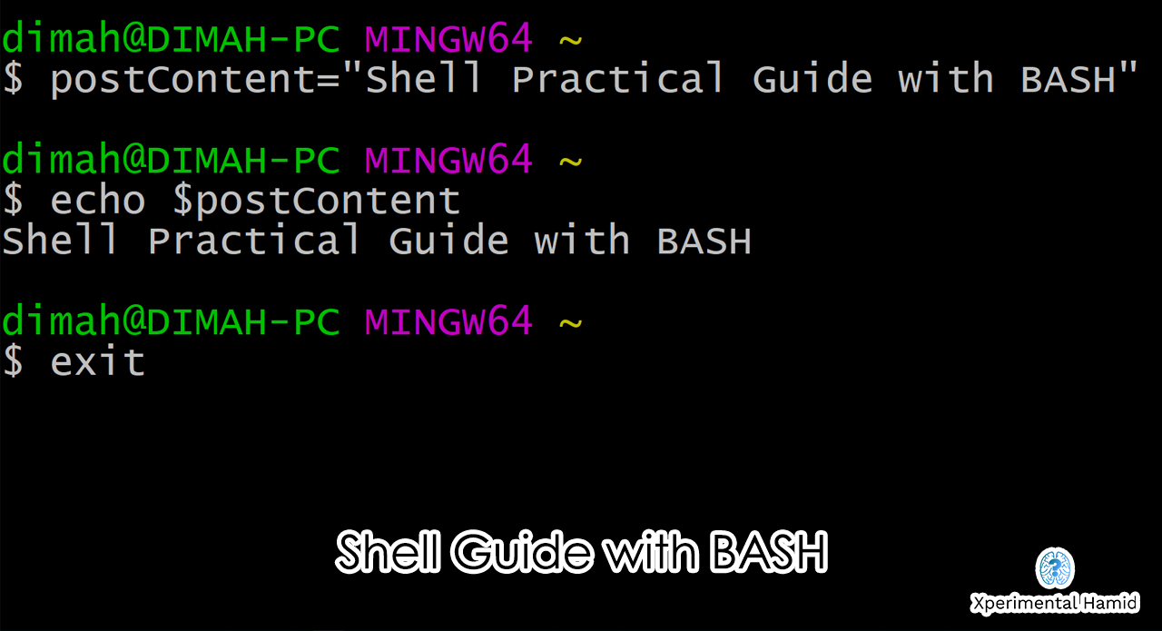 Shell Practical Guide with BASH