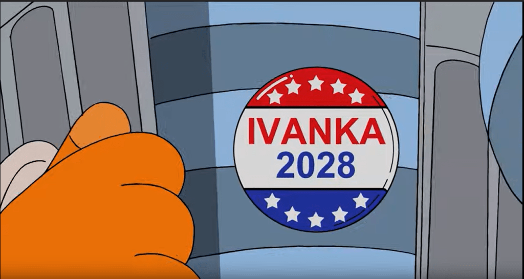 Simpsons Predictions about US Elections