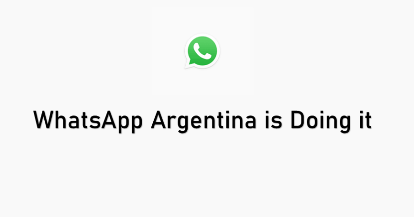 Fact Check: WhatsApp Argentina is Doing it Scam