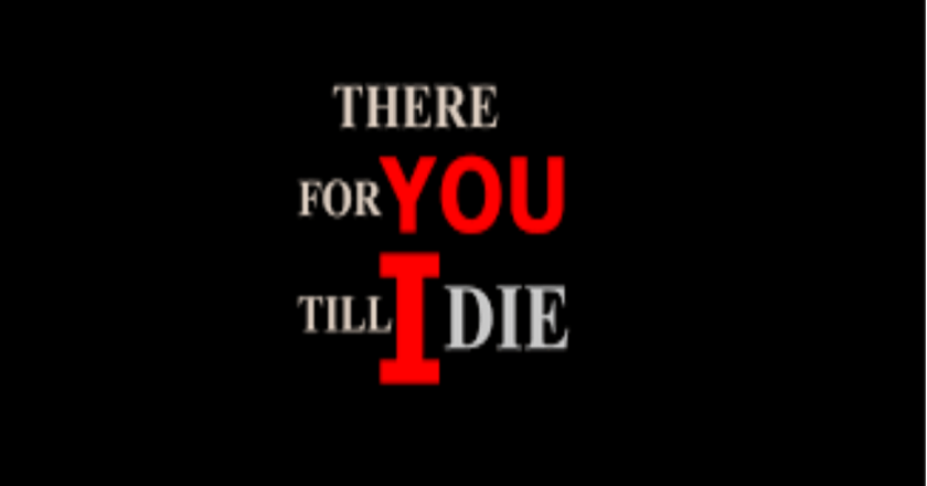 There For You Till I Die Novel Review