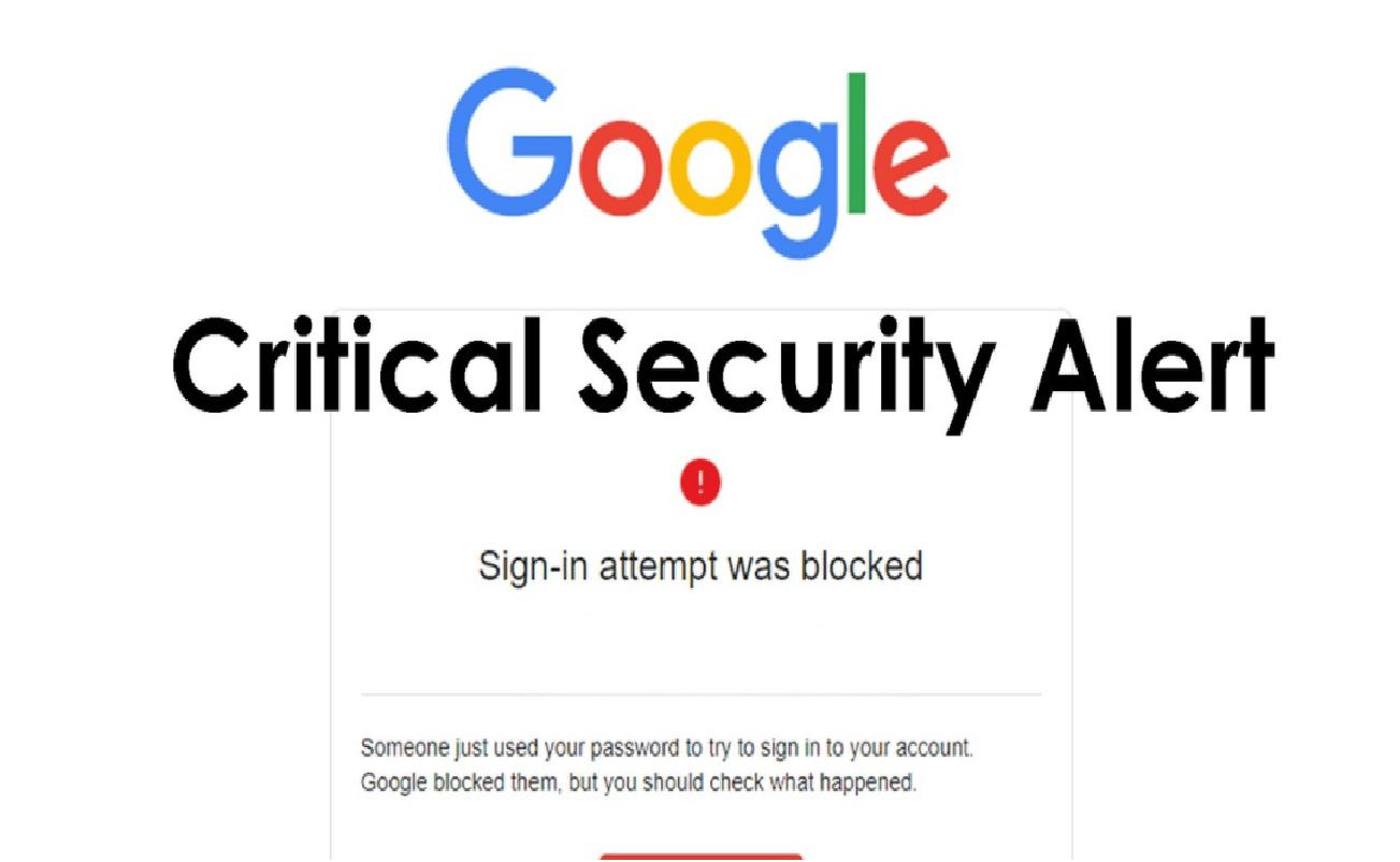 Googleセキュリティアラート詐欺