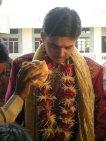 Groom Blessing at Bharvad Wedding - Dhranghadhra, Gujarat, India 2009