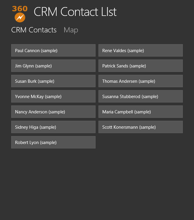 Adding a Bing Map to your CRM HTML5 LightSwitch Application (1/5)