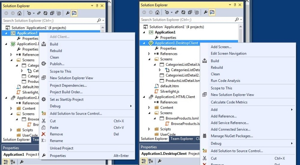 First look at LightSwitch V4 in VS2013 Preview (5/6)