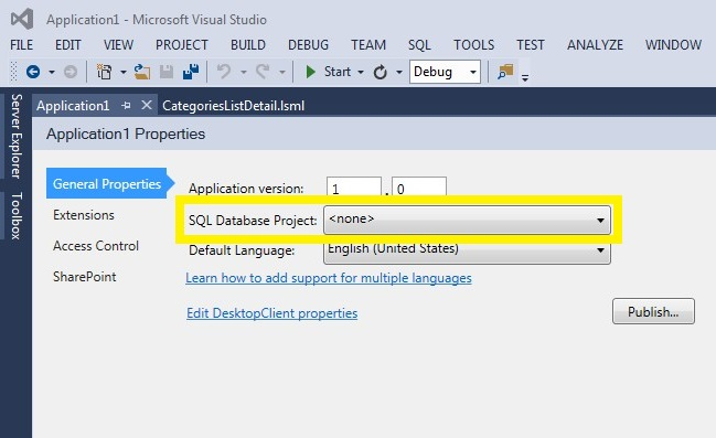First look at LightSwitch V4 in VS2013 Preview (3/6)