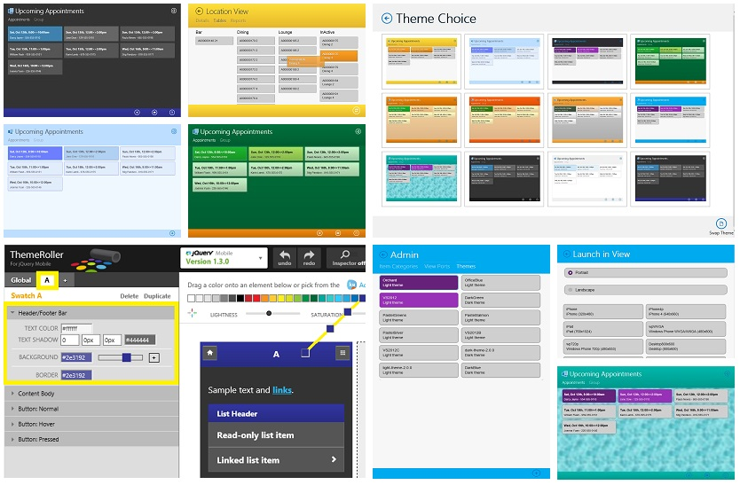 Guide to VS2013 LightSwitch HTML Themes (1/4)