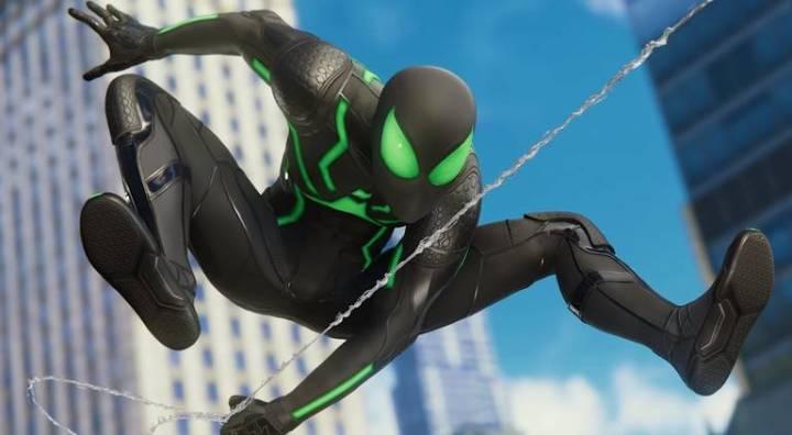 Spider-Man: Veja todos os trajes do jogo do Homem-Aranha - Traje Furtivo