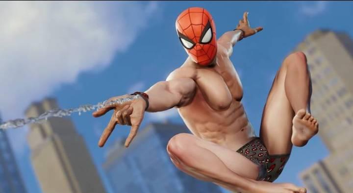 Spider-Man: Veja todos os trajes do jogo do Homem-Aranha - Traje Undies Samba Canção