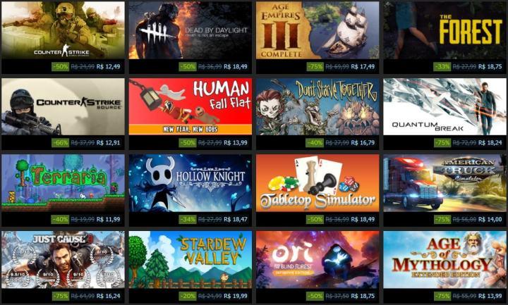 Promoção Steam: Com Ano Novo Lunar, Steam faz primeira promoção de 2018 2