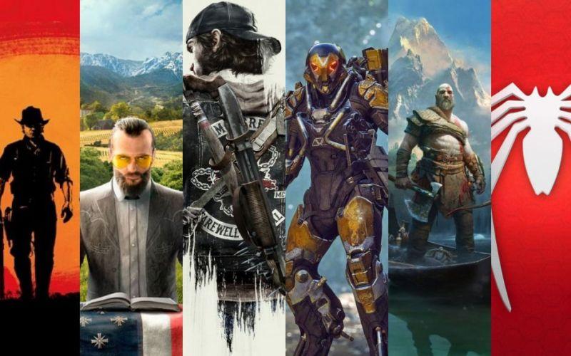 Top 15: Lançamentos dos principais jogos do ano (2018)