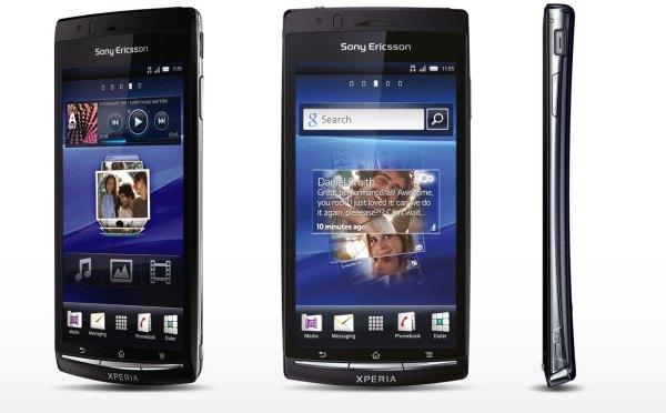 Sony Ericsson Xperia Arc S LT18i, LT18a Photos Gallery ...