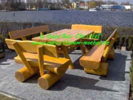 Rustikale Mbel Fr Ihren Garten Bnke Tische Und
