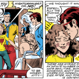 In a lot of ways, Kitty's Fairy Tale is a fantasy riff on the Dark Phoenix Saga with a happy ending, which makes the end of the issue kinda bittersweet. (X-Men #153)