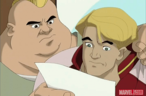 """""""It says here that your first period class is, um... Basic Supervillainy?"""""""