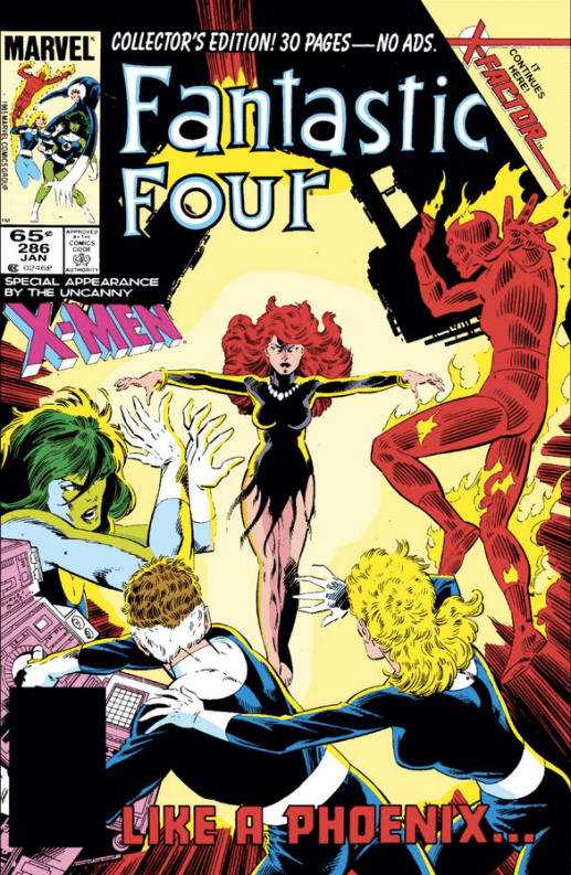 The return of Jean Grey!