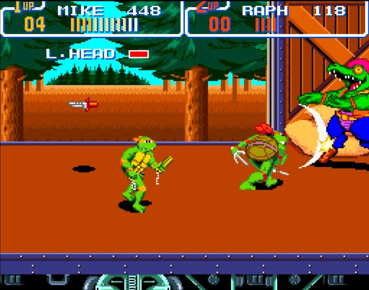 1991 - Turtles in Time
