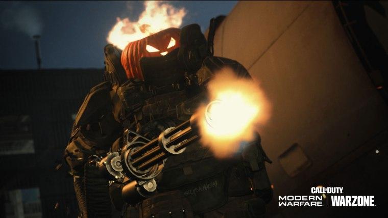 Jack-o-Lantern Head - Call of Duty: Modern Warfare and Warzone