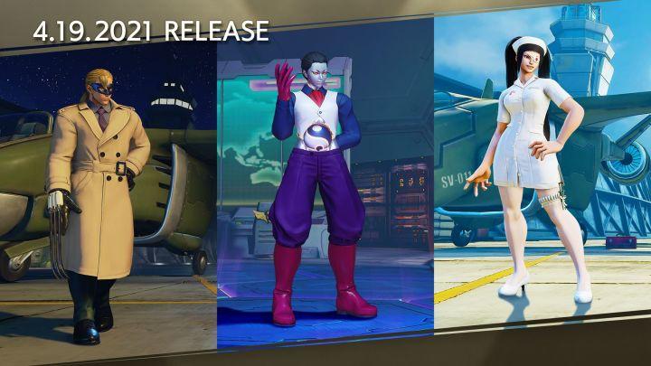 New costumes for Vega, Seth, and Juri, Photo Credit: Street Fighter V, Capcom
