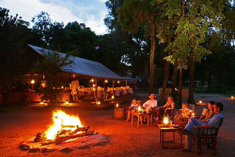 African Safaris Bonfire Moments