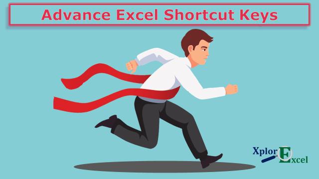 Advance Excel Shortcut Keys