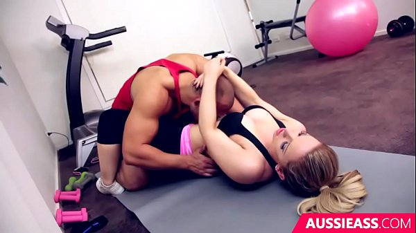 Cute blonde Madison has sex with her personal trainer