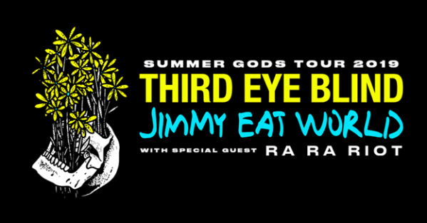 Third Eye Blind and Jimmy Eat World  Announce 2019 Summer Gods Tour