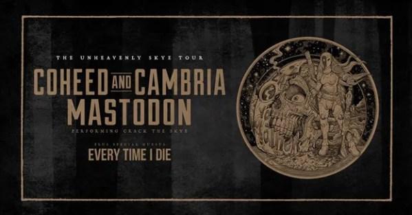 COHEED AND CAMBRIA and MASTODON