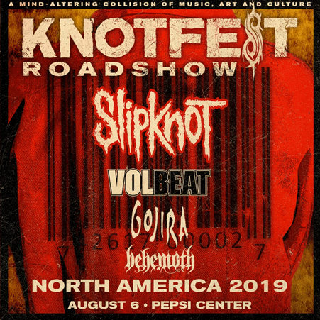KNOTFEST ROADSHOW NORTH AMERICA 2019