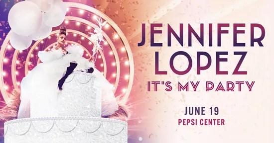"""JENNIFER LOPEZ """"IT'S MY PARTY: THE LIVE CELEBRATION"""" TOUR"""
