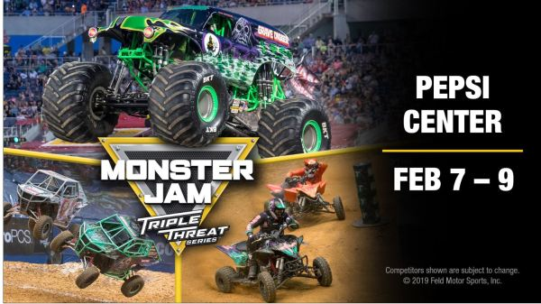FAMILY 4 Pack TICKET GIVEAWAY for MONSTER JAM!!
