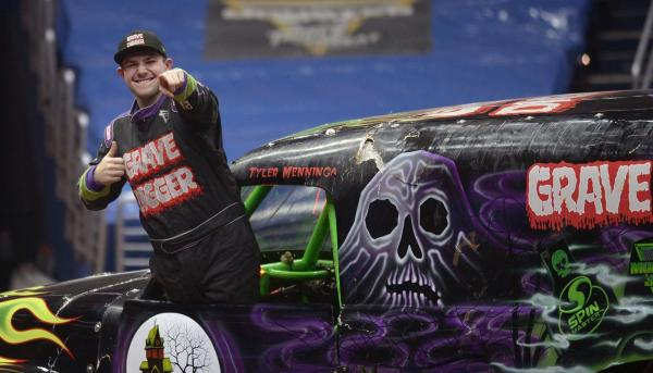 Monster Jam Triple Threat World Series Takes Over the Pepsi Center Opening Night