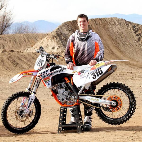 Interview Dawson Newby Amsoil Arenacross Rider