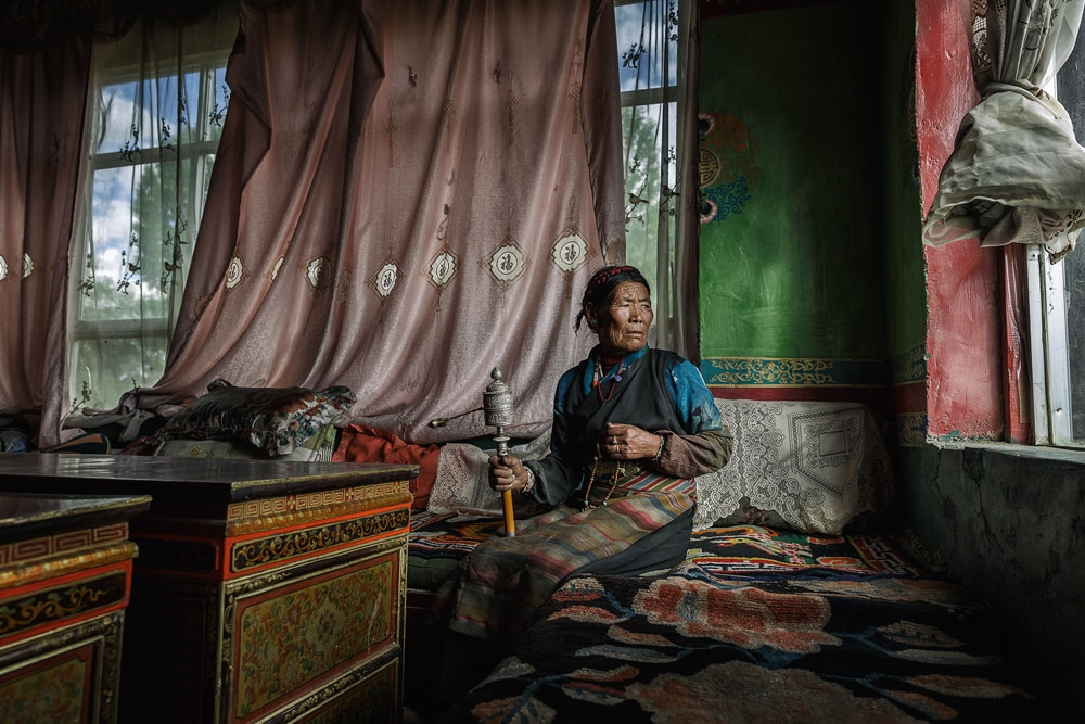 Tibet by Hamed Al Ghanboosi receives Scholarship Award at Xposure
