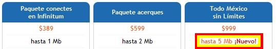 Telmex aumenta velocidad de Infinitum [Confirmado] (3/4)