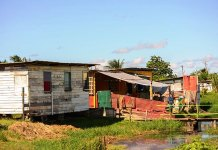 Guyana, Squatting, poverty, Afro Guyanese