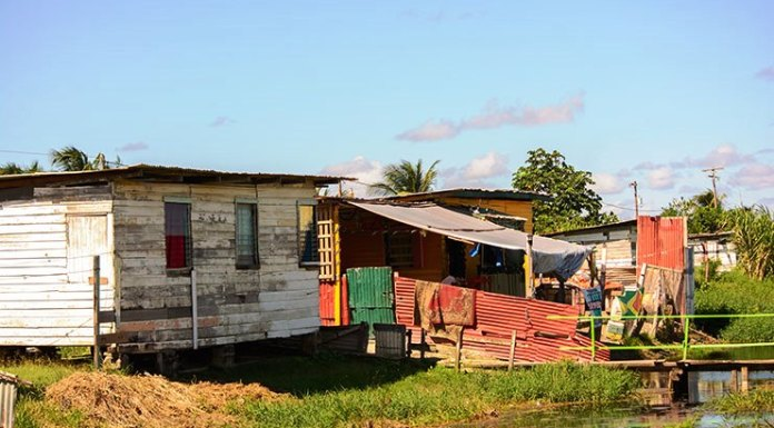 Guyana, Squatting, poverty, Afro Guyanese