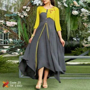 Georgette Single Kurti