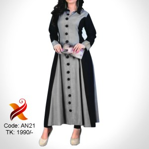 Linen Long Kurti with Legging