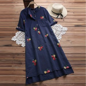 Navy Blue Long Shirt